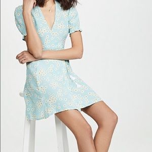 Faithfull the brand Mira Wrap Dress, Zhoe floral